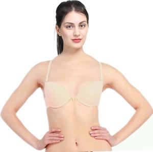 fb835fb5a9a PrettyCat Women s Push up Beige Bra Best Price in India
