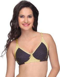 3bf043d6df Alishan Designer Women s Full Coverage Yellow Bra Best Price in India