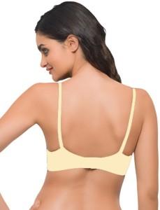 6e71aa9262d52 Laavian Carol Women s Plunge Beige Bra Best Price in India
