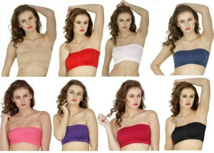 ef141332f355f Beauty Secrets by FASHIONIARA Women s Tube Beige Red White Dark Blue Pink  Purple Maroon Black Best Price in India