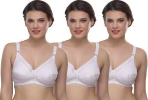 89a4c61aad7b7 Skiva Women s Full Coverage White Bra Best Price in India
