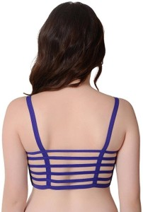 9c82eca148 KavJay s by 6 Strap Underwired Molded Cup Cage Women s Push up ...