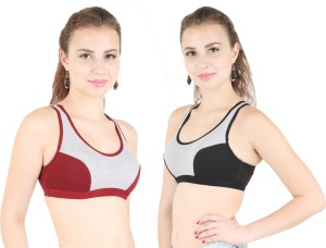 2215226de Cutecare by CUTECARE Krish Women s Sports Grey Bra Best Price in ...