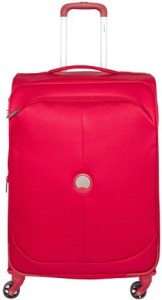 Delsey U-Lite Classic 67Cm Check-In Trolley Luggage (Red) Check-in Luggage - 7514 inch