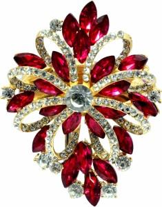 Mansiyaorange Traditional Designer Latest Fancy Saree Pin/Sari Pin/Hijab  Pin BroochMulticolor