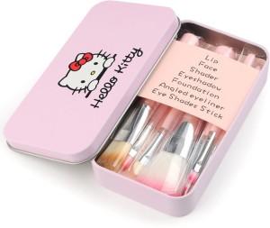 Fashion & Trend Hello Kitty 7pcs mini Pink brush set
