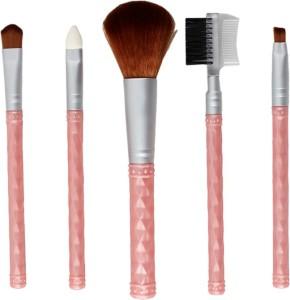 Styler Pink Makeup Beauty Brush Set of 5