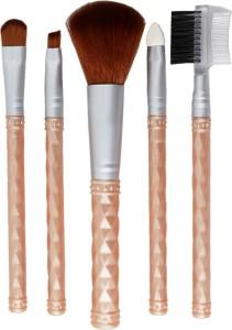 Styler Beige Makeup Beauty Brush Set of 5