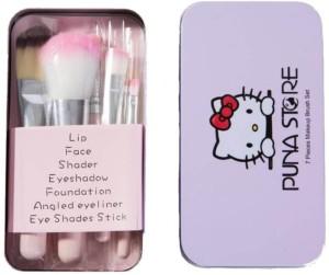 Puna Store 7 Piece Makeup Brush Set