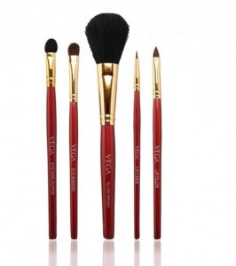 Vega Set of 5 Cosmetic Brushes