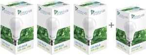 Syska Led Light 15W Pack of 3 With Free 9W LED
