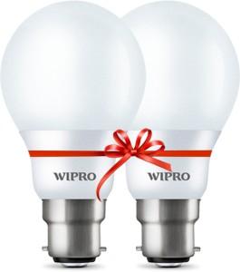 Wipro 5 W Standard B22 LED Bulb