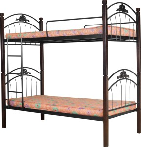 Furniturekraft 604 Metal Bunk Bed Finish Color Black Best Price In