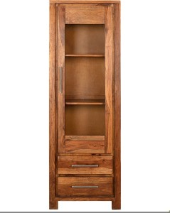 @home by Nilkamal Delmonte Solid Wood Free Standing Cabinet