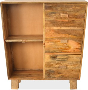 @home by Nilkamal Solid Wood Free Standing Cabinet