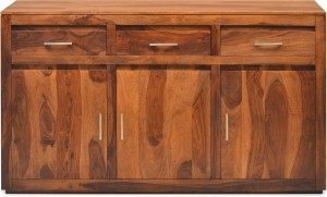 @home by Nilkamal Delmonte Solid Wood Free Standing Sideboard