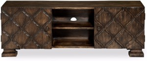 @home by Nilkamal Solid Wood TV Entertainment Unit