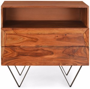@home by Nilkamal Axial Solid Wood Free Standing Cabinet
