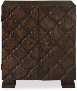 @home by Nilkamal Jharokha Solid Wood Free Standing Cabinet