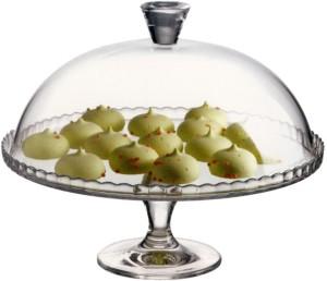 Pasabahce Glass Cake Server