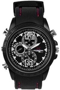 Autosity Detective Survilliance Leather Spy Watch Spy Product Camcorder