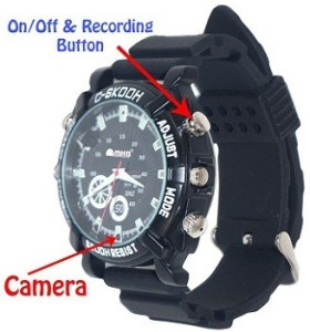 Autosity Detective Security Night vison watch_2 Watch Spy Product Camcorder