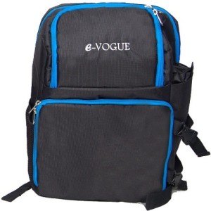 E-Vogue CBRT1 DSLR Camera Backpack with Laptop Compartment, Waterproof Rain Cover and Tripod Holder  Camera Bag