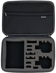 Smatree Smatree Smacase G360 Carrying Case for Gopro Hero 5/4/3+/3/2/1 (Camera and Accessories are NOT included)-Black  Camera Bag