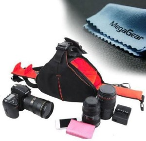 MegaGear DSLR Camera Case Bag for Canon EOS 70D, 60D, 6D, T6i, T6s, T4i T5i, 7D 5D MK Series, Nikon D5600, D610 D7100, D7200, D5500, D5300, D3200, D3300, D3400, D810  Camera Bag