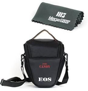 MegaGear Ultra-Light Camera Case Bag for Canon 70D, Canon EOS Rebel T6i, Rebel T6s Canon Rebel T4i, Rebel T5i, Rebel SL1 T3i T3 750D 700D 1100D  Camera Bag