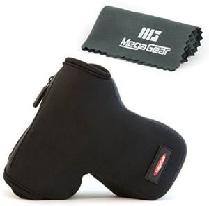 MegaGear ''Ultra Light'' Neoprene Camera Case Cover Protector for DSLR Cameras Nikon D5600, D3200, D3300, D3100, Nikon D5300, D5500, D5200, D5100, D3400 with 18-55mm lens  Camera Bag
