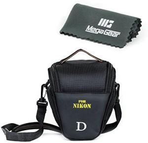 MegaGear ''Ultra Light'' Camera Case Bag for Nikon D3400, D5600, D7200, D7100 with 18-105 lens, D610 with 24-85 lens, D500 55-200mm Lens  Camera Bag