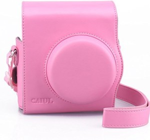 b2860883eca0 CAIUL 2nd Generation Comprehensive Protection Instax Mini 8 Case With Soft PU  Leather Camera Bag