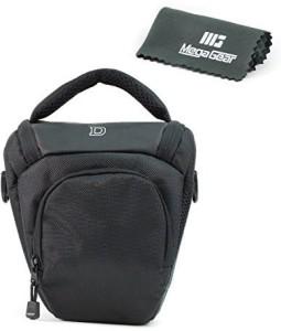 MegaGear Professional Camera Case Bag for Nikon D5600, D3400 D610, D7100,  D7200, D3200, D3100, D3300, D5300, D5500, D5200, D5100 with 18-105, 18-140