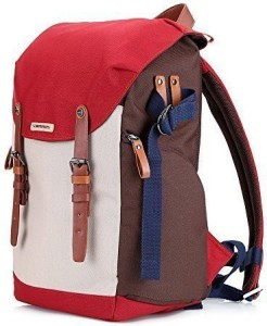 NEPPT Camera backpack for women with laptop dslr insert accessories tripod strap gadget bag for sony/canon EOS rebel/nikon/video cameras (Red)  Camera Bag