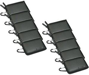HDE 10 Pack Black Semi-hard Slimline Zipper Digital Camera Case  Camera Bag