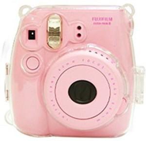 3552d7e1a73f Clover Transparent Crystal fuji mini case for Instax Mini 8 Camera Case  Camera Bag