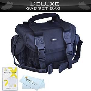 Deluxe Deluxe Rugged Camera Bag / Case For Nikon Df, D5500, D5300, D3300, D5200, D3200, D5100, D3100, D7000, D90, D5000, D3000, D700, D800, D800E D600, D610 DSLR and Blackmagic Pocket Cinema Camera + More  Camera Bag
