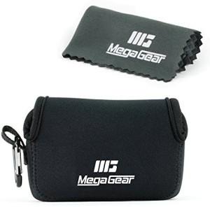 MegaGear MegaGear 'Ultra Light' Neoprene Camera Case Bag with Carabiner for Canon PowerShot G7X, Canon PowerShot G7 X Mark II Cameras (Black)  Camera Bag