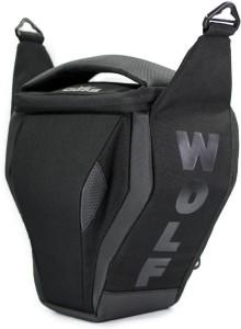 65ca8a6d09 Gods WOLF Camera Bag Black Best Price in India