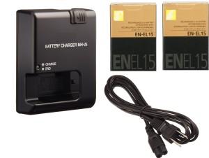 HAWK Nikon EN-EL15  Camera Battery Charger