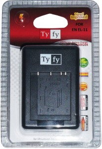 Tyfy Jet 3 Charger for EN EL-11 Ac  Camera Battery Charger