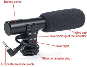 SRK MIC FOR SMART PHONES WITH 3.5mm jack Microphone