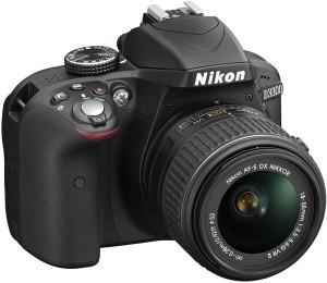 Nikon D3300 (Body with AF-S DX NIKKOR 18 - 55 mm F3.5 - 4.6 VR II Kit Lens) DSLR Camera