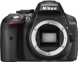 Nikon D5300 (Body only) (16 GB SD Card + Camera Bag) DSLR Camera