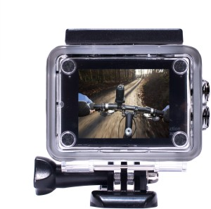 Maddcell helmet sports action cam 130 degree recording camera with all mounts Instant Camera