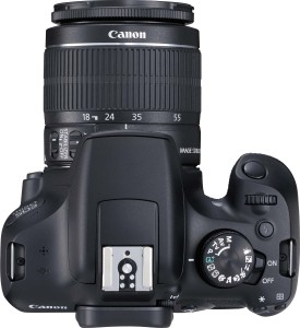 Canon EOS 1300D DSLR Camera (Body with EF-S 18 - 55 IS II)Black