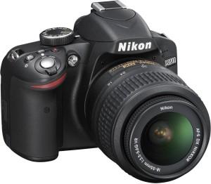 Nikon D3200 DSLR Camera (Body with AF-S DX NIKKOR 18-55mm f/3.5-5.6G VR II Lens)