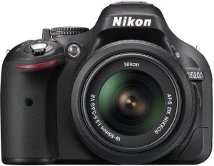 Nikon D5200 DSLR Camera (Body with AF-S DX NIKKOR 18-55 mm F/3.5-5.6G VR II Lens)