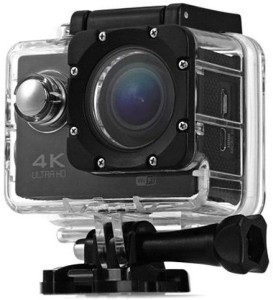Mobile Gear 4K Ultra HD 12 MP WiFi Waterproof Digital Action & Sports Camcorder With Accessories Body Only Sports & Action Camera